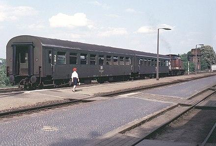 Geschichte des Werneuchen Bahnhofs